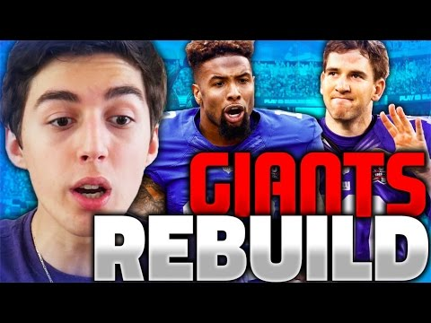 REBUILDING THE NEW YORK GIANTS! MADDEN 17 CONNECTED FRANCHISE