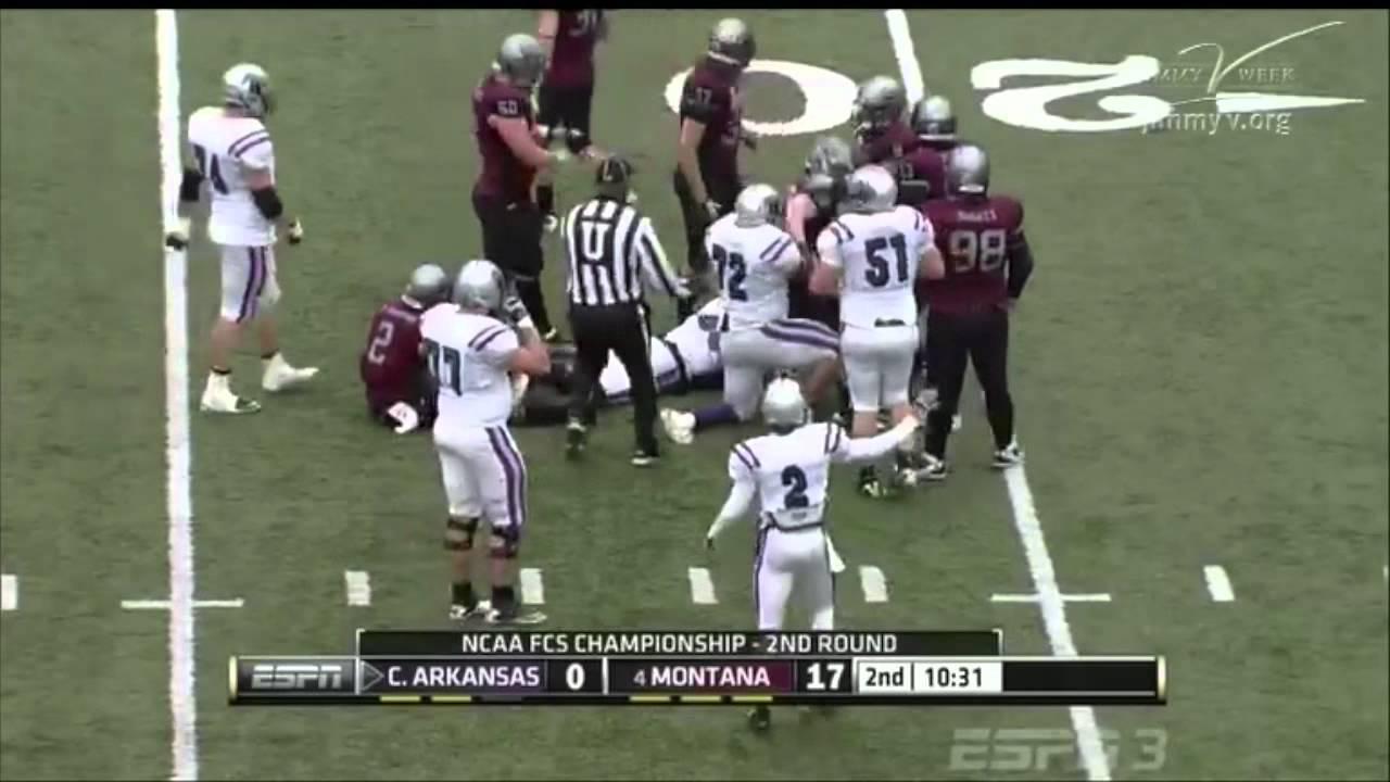 Trumaine Johnson vs Central Arkansas 2011