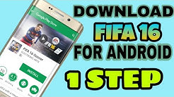 how to download fifa 16 for android