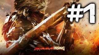 Metal Gear Rising Revengeance Walkthrough #1 [FR][HD]