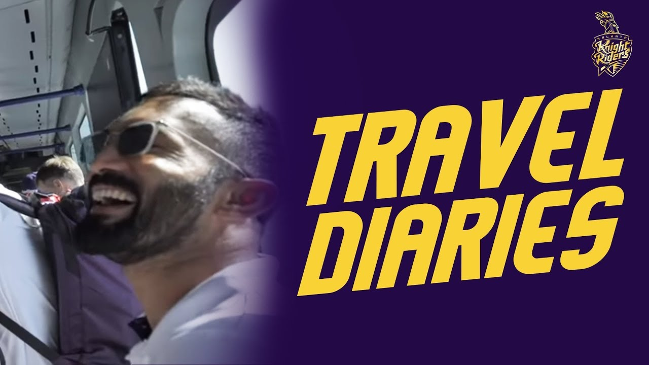 Travel Diaries: KKR flight to Delhi | VIVO IPL 2019