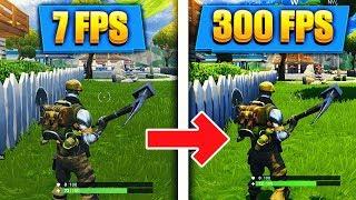 Mehr FPS in FORTNITE bekommen!! (gut für schlechte PC´s) - Fortnite Battle Royale