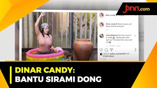 Dinar Candy Pamer Pose Sedang Mandi Malam - JPNN.com