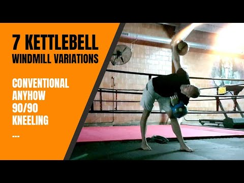 7 Kettlebell Windmill Variations That Rip into Your Core