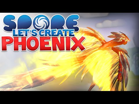 SPORE: Phoenix! - Let's Create | Spore Modded
