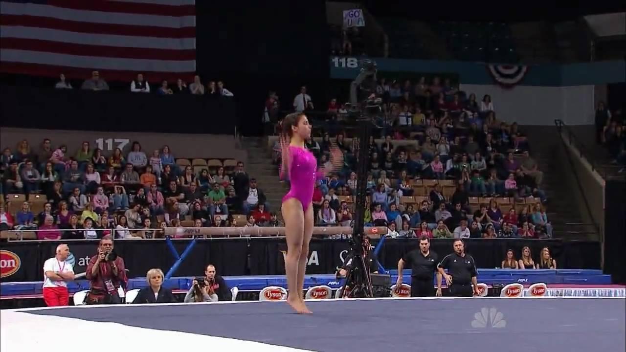 Alexandra Raisman Floor Exercise 2010 Tyson American
