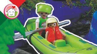 Playmobil film italiano Tutti in Kayak! - Famiglia Hauser