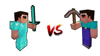 NOOB VS NOOB - Minecraft