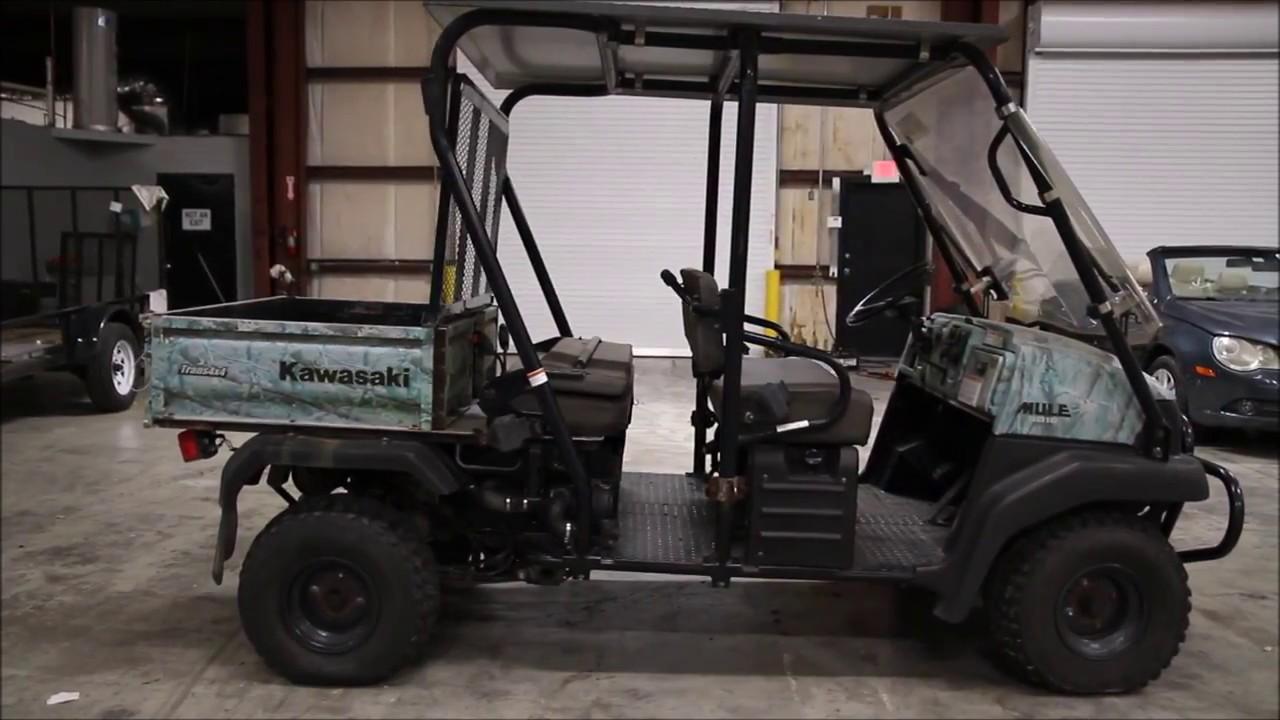 2006 Kawasaki Mule Trans KAF620 Used Parts
