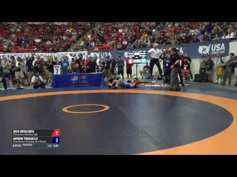 57 Quarters - Nico Megaludis (Nittany Lion WC) vs. Nathan Tomasello (Titan Mercury WC/Ohio Region...