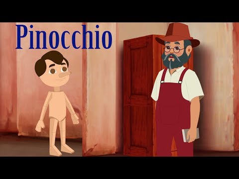Pinocchio Cartoon Full Movie HD | Fairy Tales for Kids | Bedtime Stories |