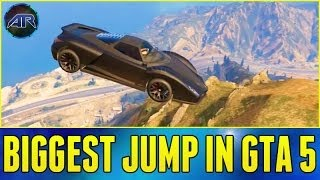 Grand Theft Auto 5 Online : Biggest Jump In The Game