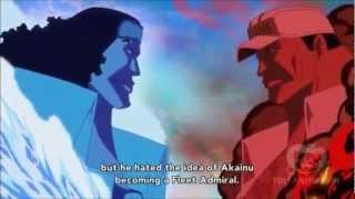 New Fleet Admiral: Akainu beats Aokiji after 10 days of fighting