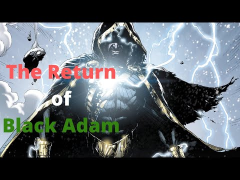(DC) Justice League Side-Story 3 Shazam! The Return Of Black Adam Motion Comic 🎁