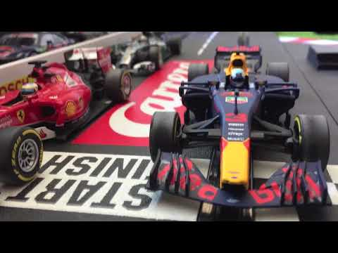 CARRERA Red Bull F1 20 MPH SLOT CAR- Crazy Fast! Drifts!