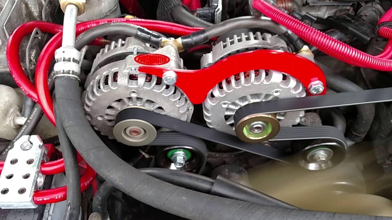 Chevy Dual Alternator Wiring Trusted Diagrams Diagram Up Alternators Custom U2022 89 350