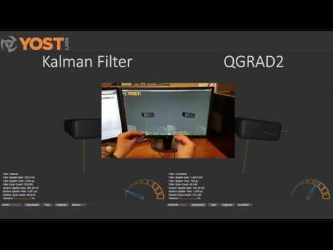 QGRAD vs  Kalman Filter - Yost Labs