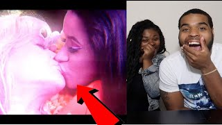 THEY KISSED 😳😘 | Rita Ora - Girls ft. Cardi B, Bebe Rexha & Charli XCX (Official Video) | REACTION