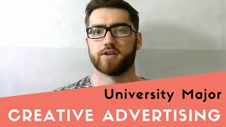 Creative Advertising at University thumbnail picture.