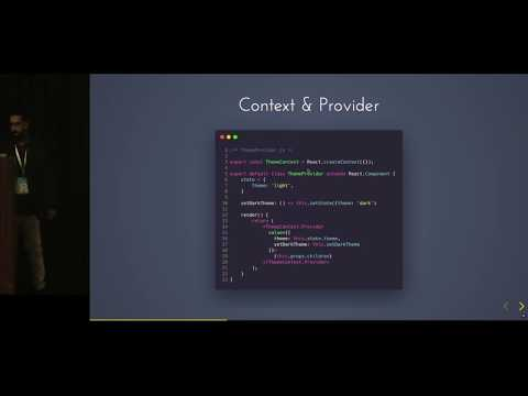 Elegant state management using Context APIs and React Hooks thumbnail