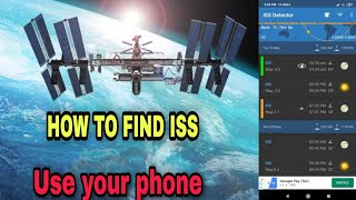 How To Find ISS / Find ISS In Sky / ISS DETECTOR APP / How To Use Iss Detector App screenshot 3