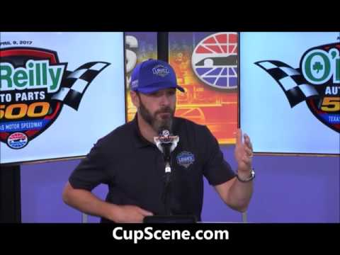 NASCAR at Texas Motor Speedway, April 2017:  Jimmie Johnson pre-race