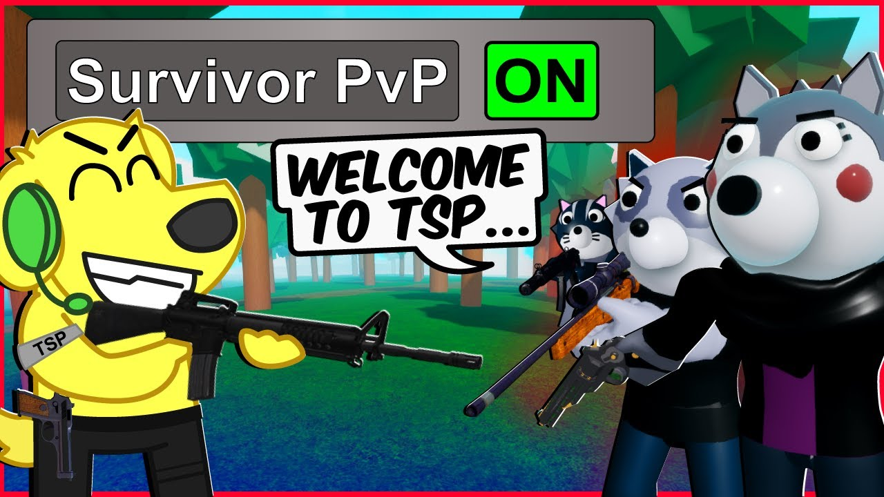 ROBLOX PIGGY INTERCITY JOINING TSP... (Piggy Intercity PVP Funny Moments)