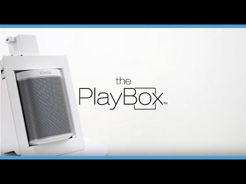 Playbox By Thenos In Wall Box For Sonos Play 1 Amp Sonos