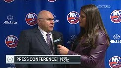 Barry Trotz: Now This is the Fun Part! | New York Islanders Post Game