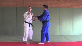 Double Lapel Grab (throw options) with Judo Olympian Matt D