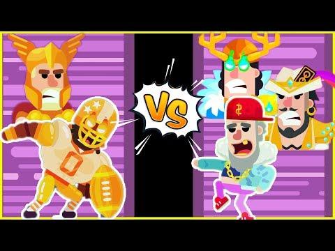 Thor Thunder vs God Ice King Kitsune Lil Dump Jeremy King Shark Mad Mike