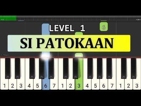 Not Piano Si Patokaan - Tutorial Level 1 - Lagu Daerah Nusantara Tradisional - Sulawesi Utara