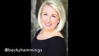 GRAVITY - SARA BAREILLES COVER Sung by Rebecca Hemmings
