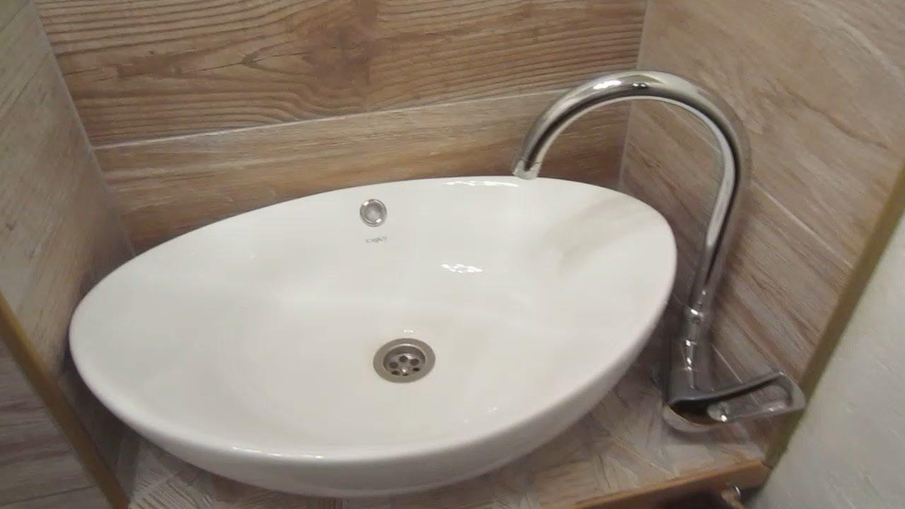 Waschbecken Einbauen Gastewaschbecken Youtube