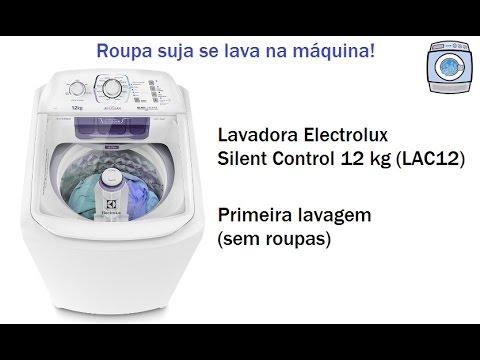 86d63c04c2 Lavadora Electrolux Silent Control 12 kg (LAC12) - Primeira lavagem (sem  roupas)