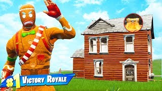�������� ���� The ONE HOUSE CHALLENGE in Fortnite Battle Royale ������