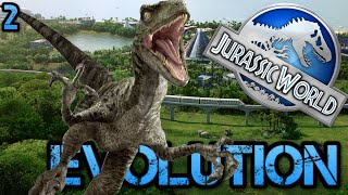 Jurassic World Evolution | BOY... This ESCALATED Quickly! The Carnivore Escape! R.I.P [JWE PS4 Pro]