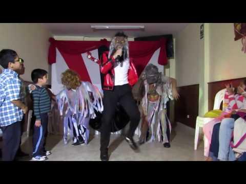 Michael Jackson Peruano Jhon Palacios: Thriller (cumple Yorshua)