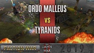 Dawn of War 2 - Faction Wars 2019   Ordo Malleus vs Tyranids