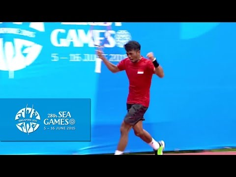 Tennis Team Men's Team Final (Day 4) - Thailand vs Indonesia Match 1 | 28th SEA Games Singapore 2015