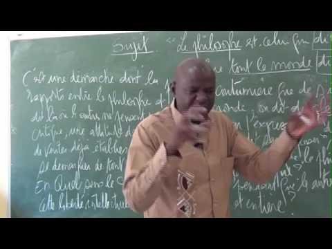 Dissertation Philosophique Par Songué Diouf: Thèse Et Antithèse