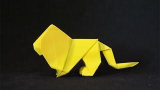 Origami: Lion