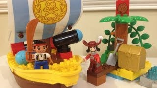 Jake And The Never Land Pirates Disney Junior Lego Duplo 10514 Jakes Pirate Ship Bucky Toy Playset