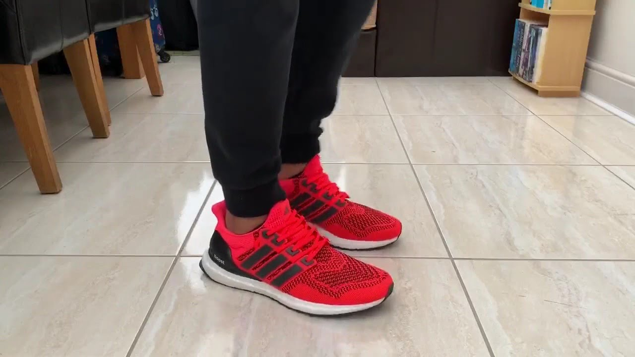 Adidas Ultraboost 1.0 Solar Orange 2019 Quick ON-Feet - YouTube