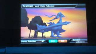 How to get Reshiram and Zekrom in Pokedex 3D