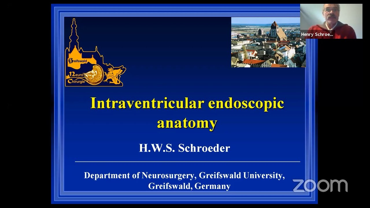 Download Intraventricular Endoscopic Anatomy by Henry Schroeder on WFNS Webinar Day 1 on May 12, 2020