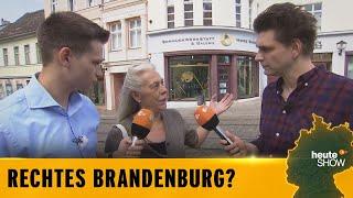 Wahlkampf in Brandenburg: Lutz van der Horst und Fabian Köster fahren Richtung Ostopia!