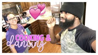 Work, gymnastics &amp cooking dinner with Joel  Daily Vlog