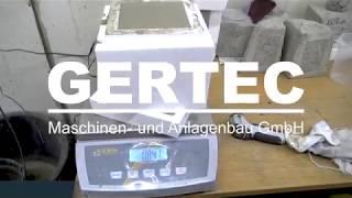 GERTEC SBL Schaumbeton Labormischer