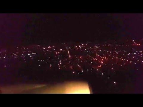 NIGHT LANDING IN ADISS ABABA VIDEO